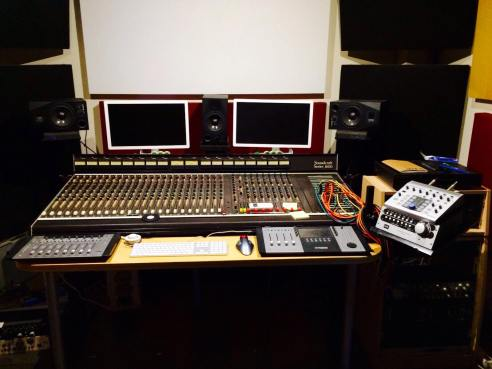 WFS Control Room